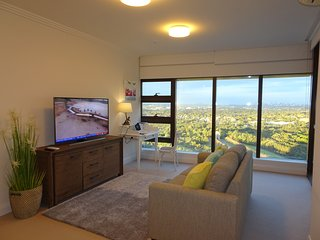 Fully Furnished 1 Bedroom Apartment in Sydney Olympic Park, Level 23