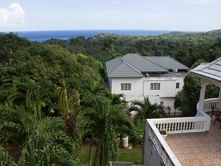 All Nation Guesthouse - Superior Queen size bedroom with PVT balcony & Sea view, Port Antonio