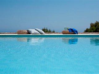 Viewing the Aegean Sea-Pool-Garden-Vravrona