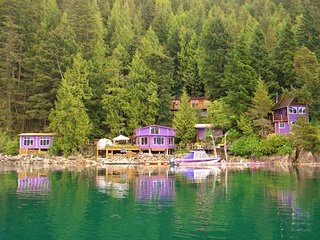 Waterfront Cabin & Cottage Rental 4km boat ride from  from Harrison Hot Springs