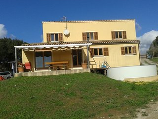 House in field with pool in Artà, Arta