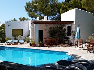 Chalet individual con piscina privada en Cala Morell