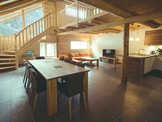 Chalet 10 places, sauna, Serre Chevalier