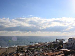 Atico con magnificas vistas panoramicas al mar