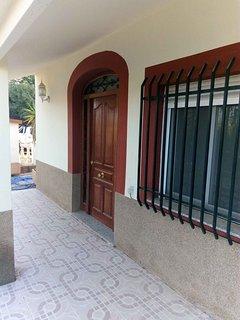 Front door area...