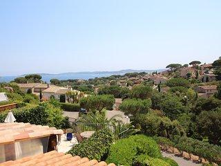 Maison 6/8 pers  - Ste Maxime - Vue mer - Piscine - WiFi - Proche centre & plage