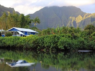 BE IN Hanalei & ON THE RIVER for a classic Kauai Experience! TVNC#4346