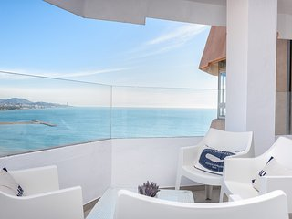 New seaview apartment. La  malagueta II