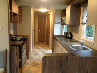 3 Bedroom DELUXE GRADED caravan for hire, Berwick upon Tweed
