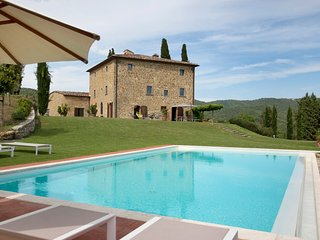 Large Villa with Pool and Guest House in Chianti - Villa Mora with Guest House