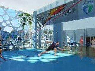 appartement dans  club avec piscine centre sportif et de bien être.