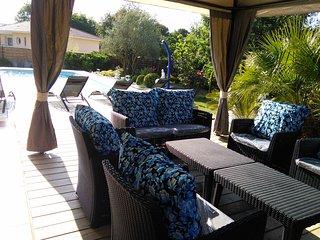 'Caraibe' grande villa 150 m2 avec piscine chauffee a 28° et SPA