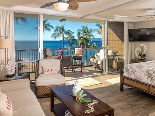 Brand new 2 bedroom beach front at the Mana Kai Maui Resort! On Keawakapu beach!, Wailea