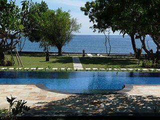 Peaceful Large Beachfront Private Villa