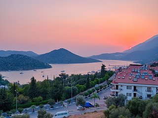 The Best View of KAS and Marina from Apartment