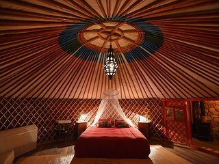 THE Desert YURT williams house eilat