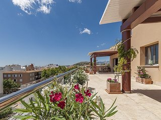 Penthouse in Puerto Pollensa, sea view and large pool
