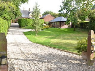 Cottage well away from the main road with 2 car park spaces outside.
