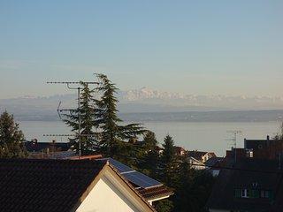 Fewo Seeblick - Grosse Ferienwohnung mit tollem See- und Alpenblick