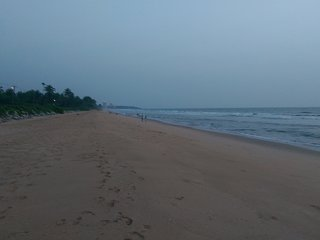Beach front 4 bedroom property with balcony and terrace for spectacular sea view, Kannur