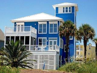 'My Blue Heaven' 5+ BR, Great Beach Views, Elevator, Pier on Lagoon, Gulf Shores