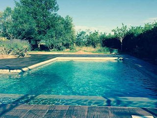 Languedoc vacation rentals on a golf course with pool