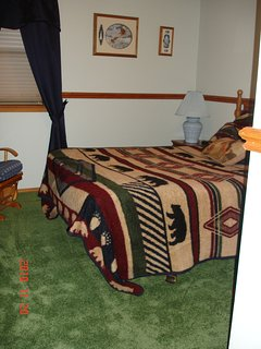 Guest room #2, downstairs, double bed