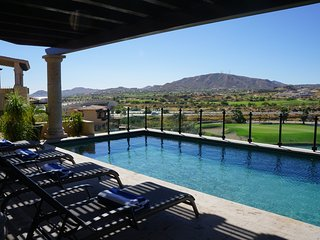^^^^VIEWS to sea & golf greens Luxury Villa 4 bdrm, San Jose del Cabo