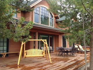 Luxury Private Log Home on 8th Tee of Keystone's River Golf Course