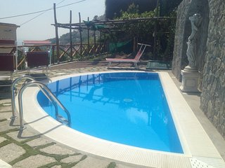 Villa Virginia Sea  view- Private pool  Special Price, Praiano