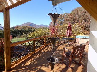 Super Cute Cottage with Hot Tub and Amazing Views in the Asheville Mountains, Leicester