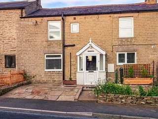 DALE VIEW, double-fronted cottage, woodburner, parking, convenient location, in