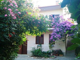 Green apartment in villa,  big garden, pool, close to sea and  old Zadar  town