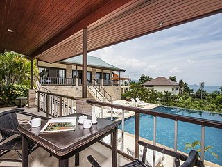 Bophut View |  4 Bed Pool and Sea View Villa in Bophut Koh Samui
