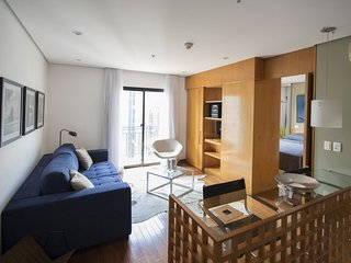 Beautiful 1 Bedroom Apartment in the Heart of Itaim Bibi, Sao Paulo