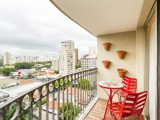 Charming 1 Bedroom Apartment in Moema, Sao Paulo