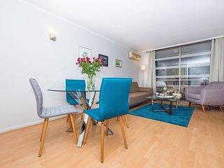 Elegant 2 Bedroom Apartment in Las Condes, Santiago