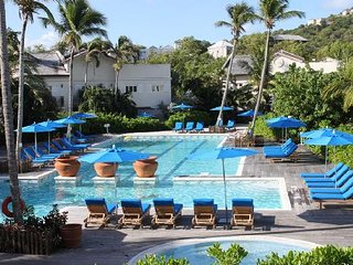 Two bedroom poolside apartment at Cotton Bay Village, St Lucia, Carribean