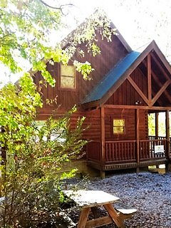 Gorgeous mountain view log cabin, right next to Dollywood Splash Country
