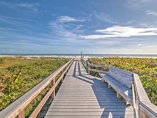 NEW! Beachfront 2BR Cape Canaveral Condo w/ Patio!