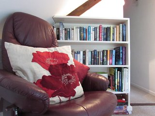 Relax at Chiddy Nook Cottage with a good book!
