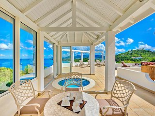 Terrasse de Mer at Terres Basses, Saint Maarten - Ocean View, Pool & Jacuzzi