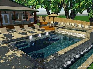 Summer Breeze- 1 Story Water Front Home, Kingsland