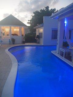 4 Bedroom Seaview Long Beach: Seafront Luxury Villa - Barbados