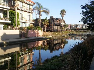 Awesome location,location, location! On the Marina Canals and steps to the beach, Marina del Rey