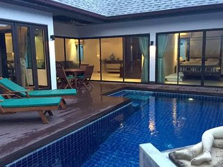 New Swimmingpool Villa, A walk from Naiharn Beach