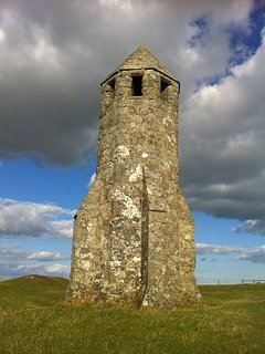St Catherines Oratory (the Pepper pot), a longer stroll from here takes you to the Hoy Monument.