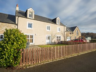 Lallybroch is an impressive 5 bedroom farmhouse steadings conversion, Stirling