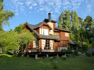 Beautiful Log House Bariloche Patagonia Argentina