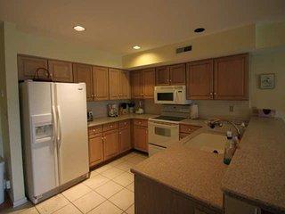 Modern Kitchen with Corian Countertops